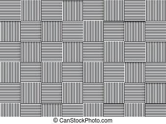 model, abstract, lijnen, geometrisch, achtergrond