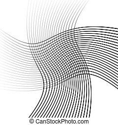 model, abstract, lijnen, maas, rooster, elkaar het kruisen