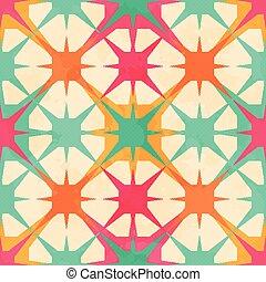 model, abstract, seamless, illustratie, vector, geometrisch