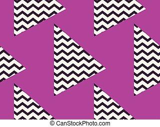 model, abstract, seamless, zigzag, color., vector, black , illustratie, achtergrond, viooltje, circles., geometrisch