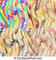 model, abstract, set, seamless