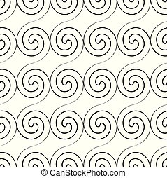 model, abstract, twirl, seamless, minimalistic