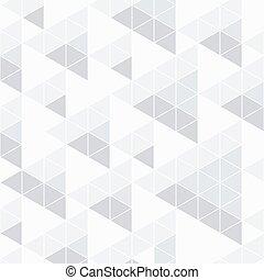 model, abstraktní, neposkvrněný, trojúhelník, grafické pozadí.