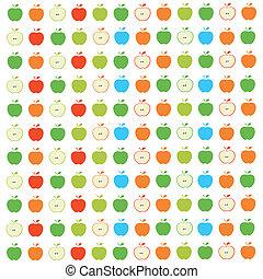 model, appeltjes , seamless
