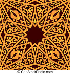 model, arabische , communie, seamless, geometrisch
