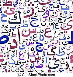 model, arabische , seamless, draaiboek