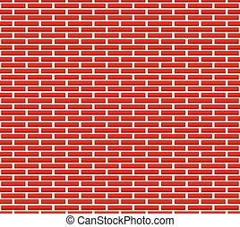 model, baksteen, seamless, muur, bakstenen, langer