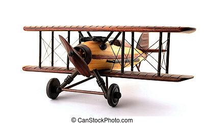 Model Bi-Plane - A model biplane in various shades of wood....