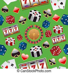 model, casino, seamless