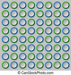 model, cirkel, achtergrond