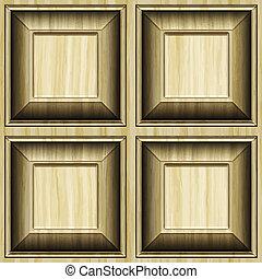 model, dřevo, vytesaný, grafické pozadí