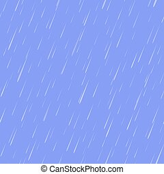 model, druppels, seamless, regen