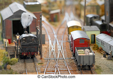 model freight yard