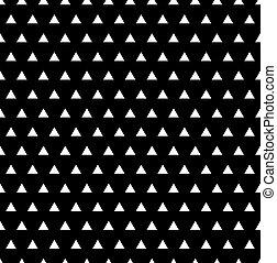 model, geometrisch, driehoek, seamless, achtergrond