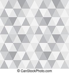 model, geometrisch, shapes., driehoek, achtergrond.