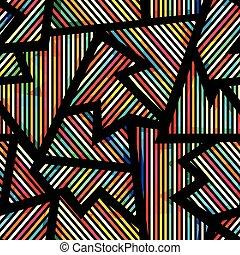 model, geometrisch, spectrum, seamless