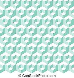 model, geometrisch, vector, abstract, achtergrond
