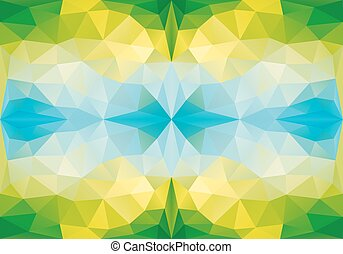 model, geometrisch, vector, seamless