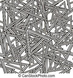 model, gestreepte , seamless, driehoeken