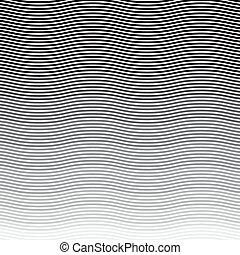 model, golvend, strepen, achtergrond