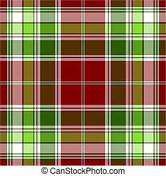 model, groene, seamless, rood