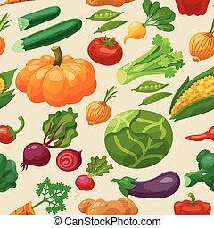 model, groentes, seamless