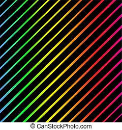 model, helder, strepen, kleurrijke