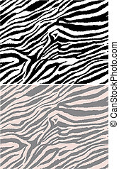 model, herhaald, seamless, zebra