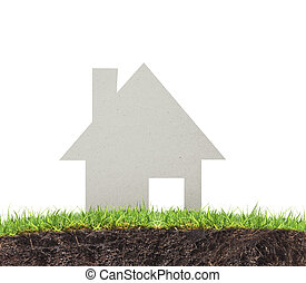Model house Dwelling environment - Model the house Dwelling...