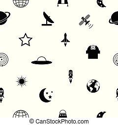 model, icon., seamless, achtergrond, ruimte
