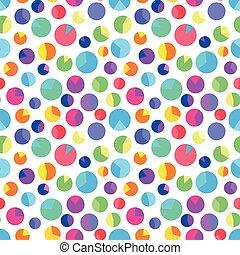 model, illustratie, gekleurde, vector, cirkels