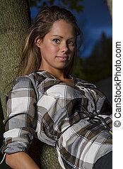 Model in a tree