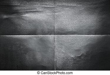 model, ineengevouwen , onderdelen, papier, black , 4, achtergrond