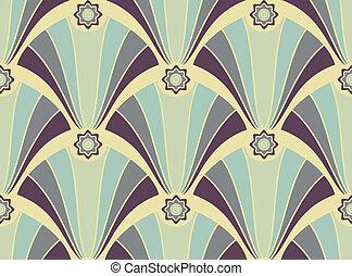 model, kleuren, geometrisch, seamless, yellow-violet