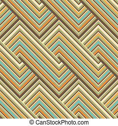 model, lijnen, gekleurde