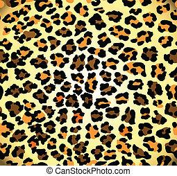 model, luipaard, seamless