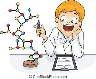 model, molecule