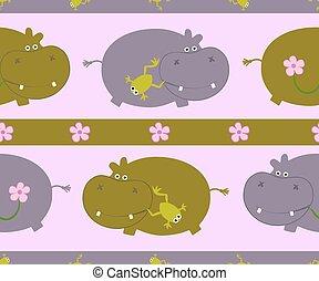 model, nijlpaard