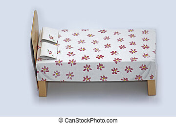 Model of a bed