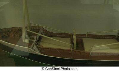 Model of a sea liner