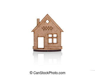 Model of a small house.