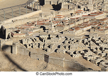 Model of Ancient Jerusalem Focusing on the Upper City