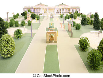 model of manor