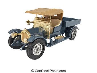 model of retro car