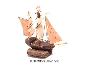 model of ship