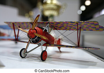 model of plane from WW1