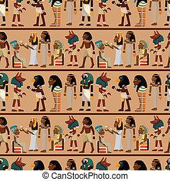 model, pharaoh, seamless