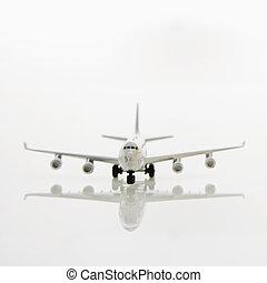 Model plane.