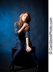 model - pose