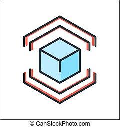 model preparation icon color